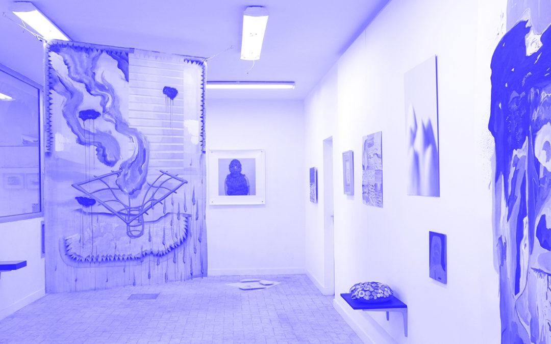 Poésie-Paléo – exposition collective autour du livre de Maxime Morel