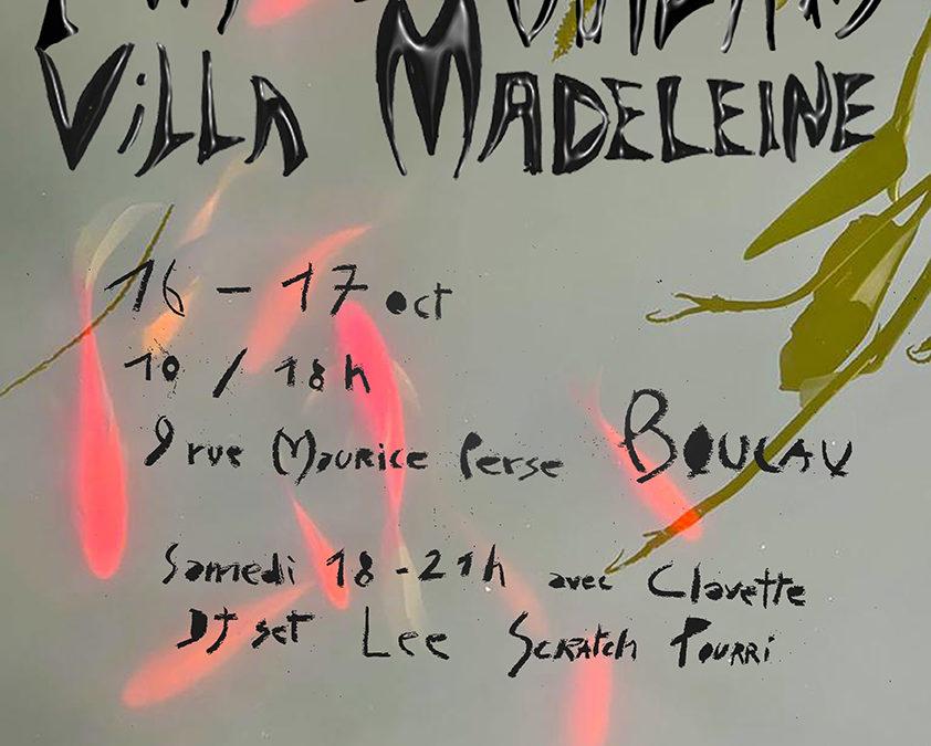 Portes ouvertes de la Villa Madeleine !
